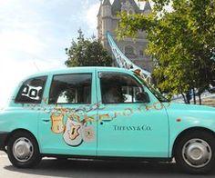 #UNIQUE car -- Tiffany's & Co blue