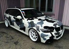 BMW E91 3 series Touring camo