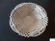 Деревянная тарелка /декоративная