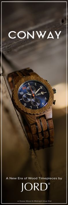 What to get for the guy with everything? JORD's line of luxury wood watches have timepieces that are as unique as him. Precision movements, exotic wood grains, and intelligent design. Nearly as perfect as him!
