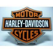 Magnifique pièce de collection unique Harley Davidson en pierre de Volvic émaillée. Disponible sur notre boutique en ligne US WAY OF LIFE pour 324€ TTC.
