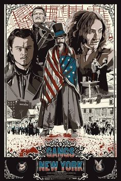 "The Dark Inker Turns In A Brilliant Commissioned Piece For Scorsese's ""Gangs Of New York"""