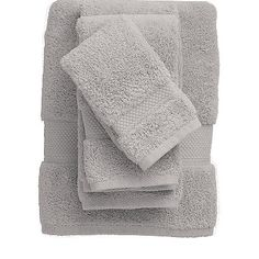 "Opulent bath towels loomed of American-grown Supima cotton (known as the ""cashmere"" of cotton). Our thickest, most sumptuous towels."
