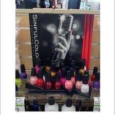 Sinful Colors Professional Shelf Display