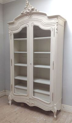 images like Beautiful Rococo French armoire / Antique / painted furniture 'Lime White. Painting Wooden Furniture, White Painted Furniture, French Furniture, Shabby Chic Furniture, Rustic Furniture, Antique Furniture, Home Furniture, Modern Furniture, Outdoor Furniture
