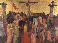 Agnolo Gaddi - Crocifissione - 1390-96 - Tempera su tavola - Galleria degli Uffizi, Firenze