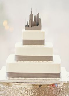 on pinterest new york cake new york and wedding cakes