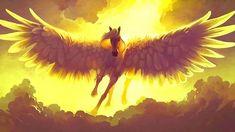 Photo of Pegasus for fans of Fantasy 36991730 Mythical Creatures List, Magical Creatures, Fantasy Creatures, Pegasus, Unicorns, Greek Monsters, Nemean Lion, The Minotaur, Legendary Creature