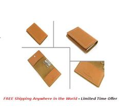 Key Ring & Card Holder Price: USD $29 Details: This Key Ring Holder is made with quality brown leather. Each holder is packed in Gift Box.  #rudolphAlexander #freeshipping #Online #OnlineShopping #wallet #seller #sellershop #sellers #gift #metal #giftbox #brown #key #keyRing #cardHolder #leather #brownLeather