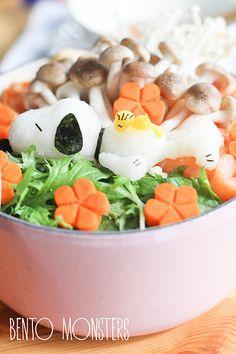 Bento, Monsters: Gudetama Sushi & Sandwich