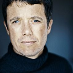 Crown Prince Frederik photographed by David Trood.