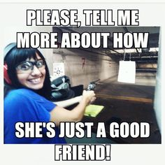 Jealous girlfriend lol