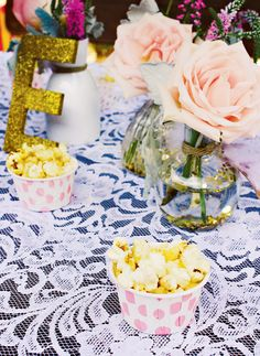 "Sparkly & Chic ""California Girl"" First Birthday Party"