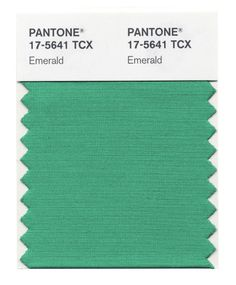 Pantone's Color of the Year 2013: EMERALD!   Also the Top 4 Colors for Spring 2013