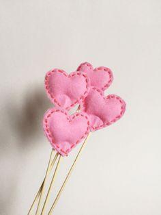 Kleine Geschenktuten Mit Herzen Fur Den Valentinstag Auf Etsy