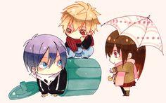 Noragami chibi characters! Kawaii ne! #blush