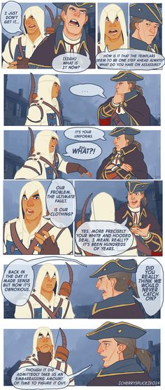 I still find it hilarious that Altair can't swim, I'd figure that Malik uses that to his advantage! I've been meaning to replay this game sometime, it will forever be my favorite of the series. ENJOY~