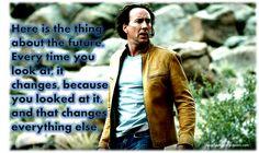 "Nicolas Cage in ""Next"" Nicolas Cage, Music Tv, Movie Quotes, Dance, Pop, Sayings, Film, Celebrities, Books"