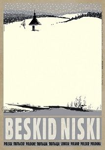 Beskid Niski - Zima Low Beskids MountainsCheck also other posters from PLAKAT-POLSKA series Original Polish poster designer: Ryszard Kaja year: 2012 size: Polish Posters, Graphic Art, Graphic Design, Railway Posters, Pub, City Illustration, Expo, Typography Prints, Vintage Travel Posters