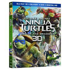 Teenage Mutant Ninja Turtles: Out of the Shadows (3D/Blu-ray/Dvd + Digital)