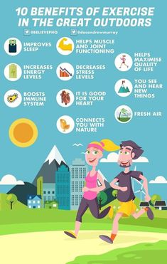 A number of reasons to get outside and be active.