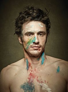 Actor James Franco is featured on the cover of New York magazine's all-new Art and Design issue may 2016. Captured by Maxine Helfman.