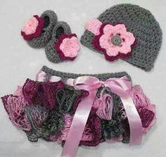 Crocheted tutu skirt!!!
