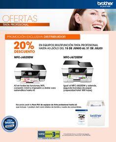 Promocion Brother Junio 2015 #impresion #printers #informatica