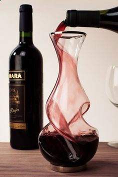 Wine Decanter - 19 Essentials For The Ultimate Home Bar #refinery29 www.refinery29.co...