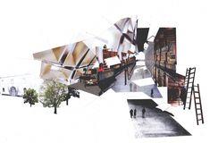 15 creative ways architectural collage Collage Architecture, Architecture Design, Architecture Graphics, Architecture Drawings, Architecture Portfolio, Concept Architecture, Landscape Architecture, Architecture Mapping, Beautiful Architecture