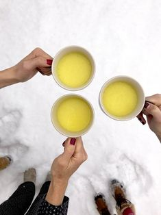 Have you hopped on the turmeric latte train yet? Get started with this delicious recipe! Turmeric, Glass Of Milk, Latte, Yummy Food, Train, Kitchen, Recipes, Cooking, Delicious Food