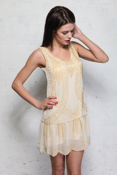 cute dresses for juniors | ... Crochet Lace Fit-N-Flare Chiffon ...