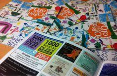 Monopoly, Brochures, Journals, Cards, Colors