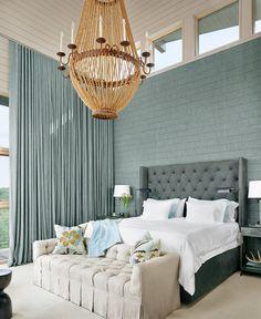 dramatic bedroom | McAlpine Tankersley Architecture