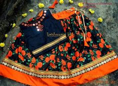 Baby Lehenga, Kids Lehenga Choli, Kids Indian Wear, Kids Ethnic Wear, Frocks For Girls, Kids Frocks, Kids Dress Wear, Kids Wear, Kids Dress Patterns