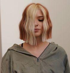 Hair Color Streaks, Hair Dye Colors, Dye My Hair, New Hair, Cheveux Oranges, High Fashion Hair, Ginger Hair Color, Haircut For Thick Hair, Aesthetic Hair