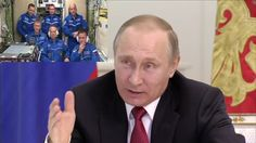 Putin Congratulates the International Space Station Crew on Cosmonautics...
