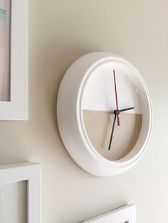 My Only Sunshine || IKEA hack color block clock