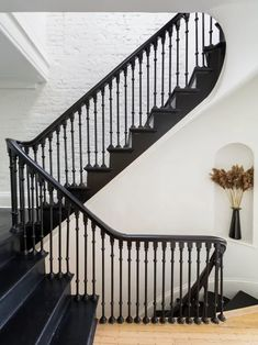 Fort Greene Brownstone Renovation Staircase Pictures, Stairway To Heaven, Stairways, Houzz, Townhouse, Exterior, House Design, Architecture, March