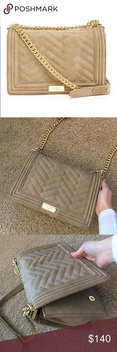 BCBG Paris Purse Brand New Sand Color Purse/Cross Body. Great condition. Interior with pockets. BCBG Paris Bags