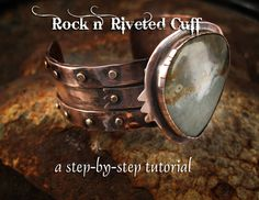 Rockin' Riveted Cuff Beginner Tutorial by Richard Salley - iCreateFlix.com