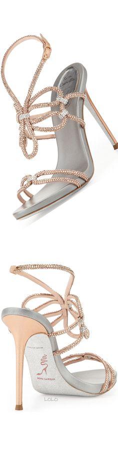 Rene Caovilla Strappy Sandals . . #stilettos #strappysandalsheels