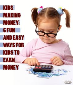 Kids Making Money: Six Fun and Easy Ways for Kids to Earn Money Ways To Get Money, Make Easy Money, Parenting Plan, Parenting Classes, Teaching Kids Money, New Parent Advice, Gifted Kids, Money Saving Tips, Frugal