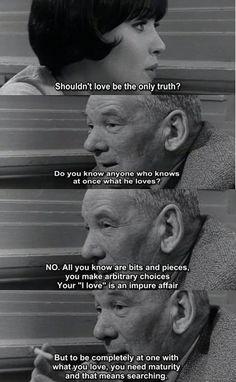 "Anna Karina in ""Vivre Sa Vie"" by Jean-Luc Godard"