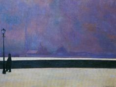 Felix Vallotton 1865-1925  The Neva with light fog