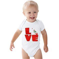 Love CALIFORNIA baby bodysuit by bodysuitsbynany on Etsy