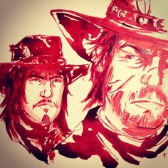 John and Jack Marston. Red Dead Redemption. Like father, like son.