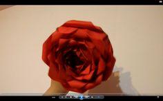 TUTORIAL  origami rose