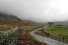 This Long And Winding Road is in Ambleside, a town in the county of Cumbria, northernmost England