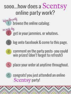 Host a Virtual Scentsy Party with me!